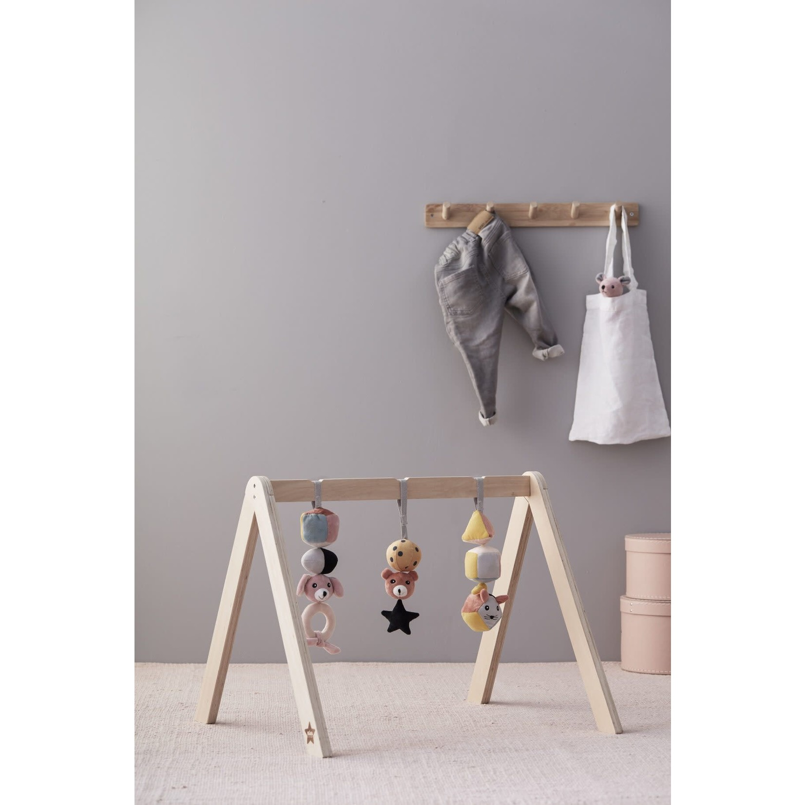 Kid's Concept Baby gym figuurtjes