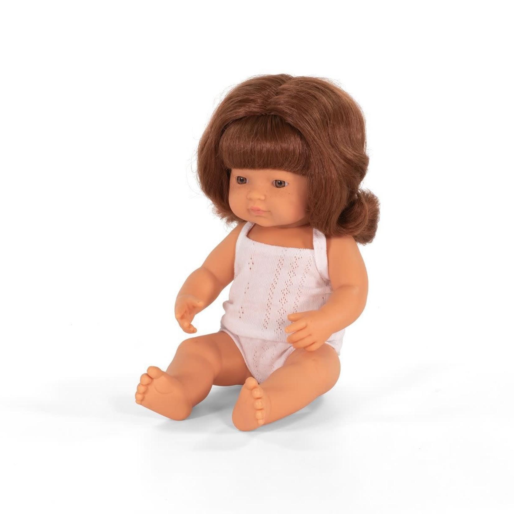 Miniland Pop roodharig meisje (38cm)