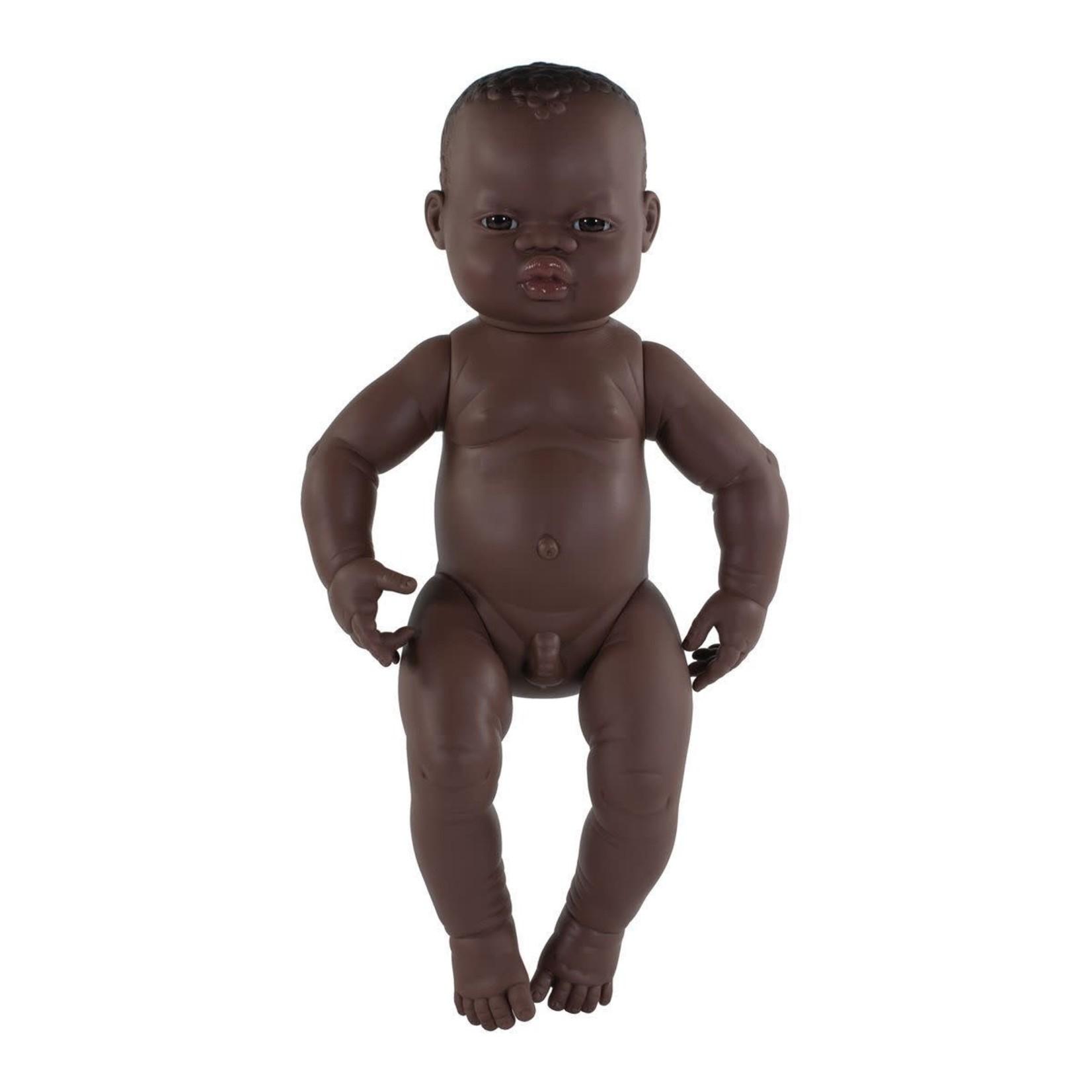 Miniland Pop Afrikaanse jongen (40cm)
