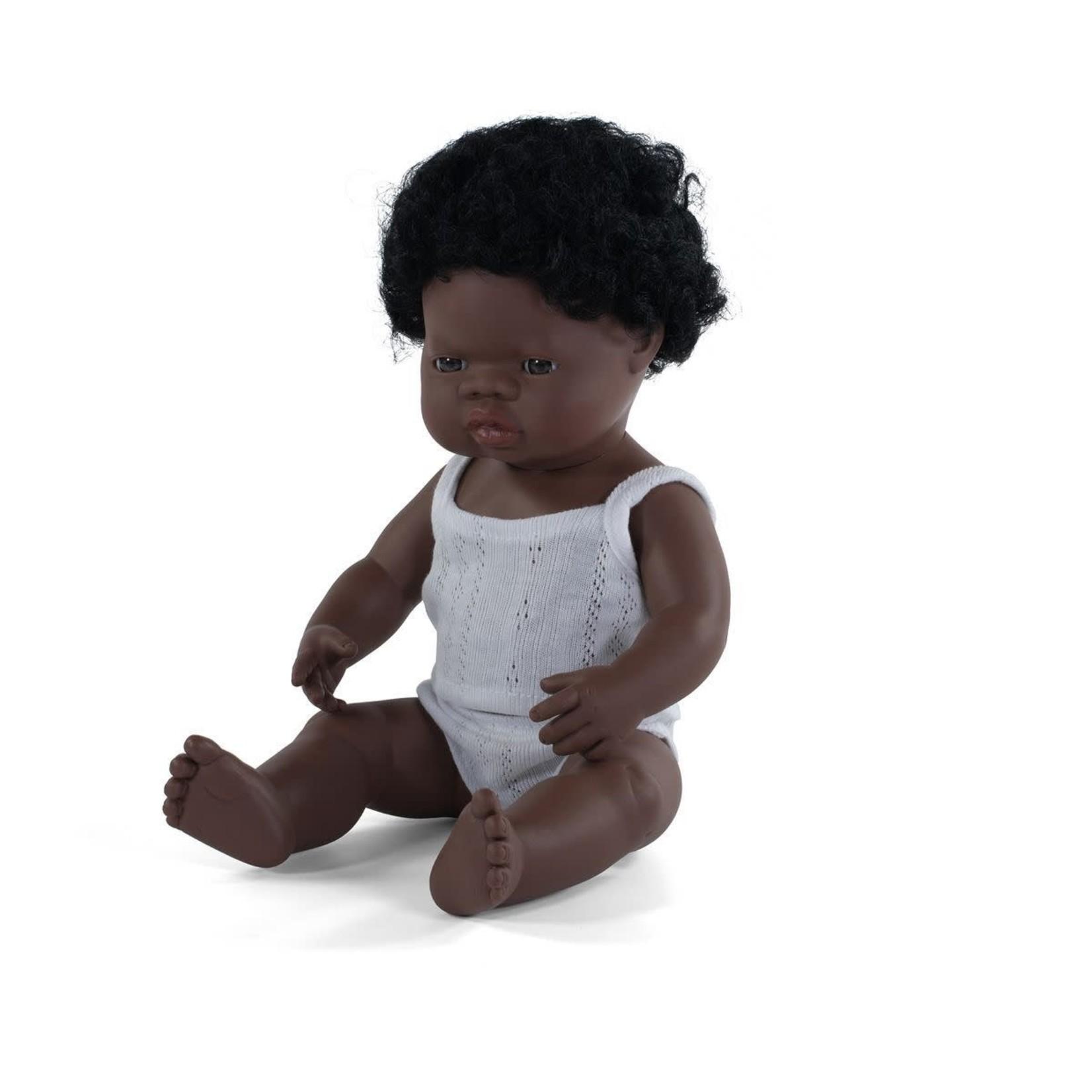 Miniland Pop Afrikaanse jongen (38cm)