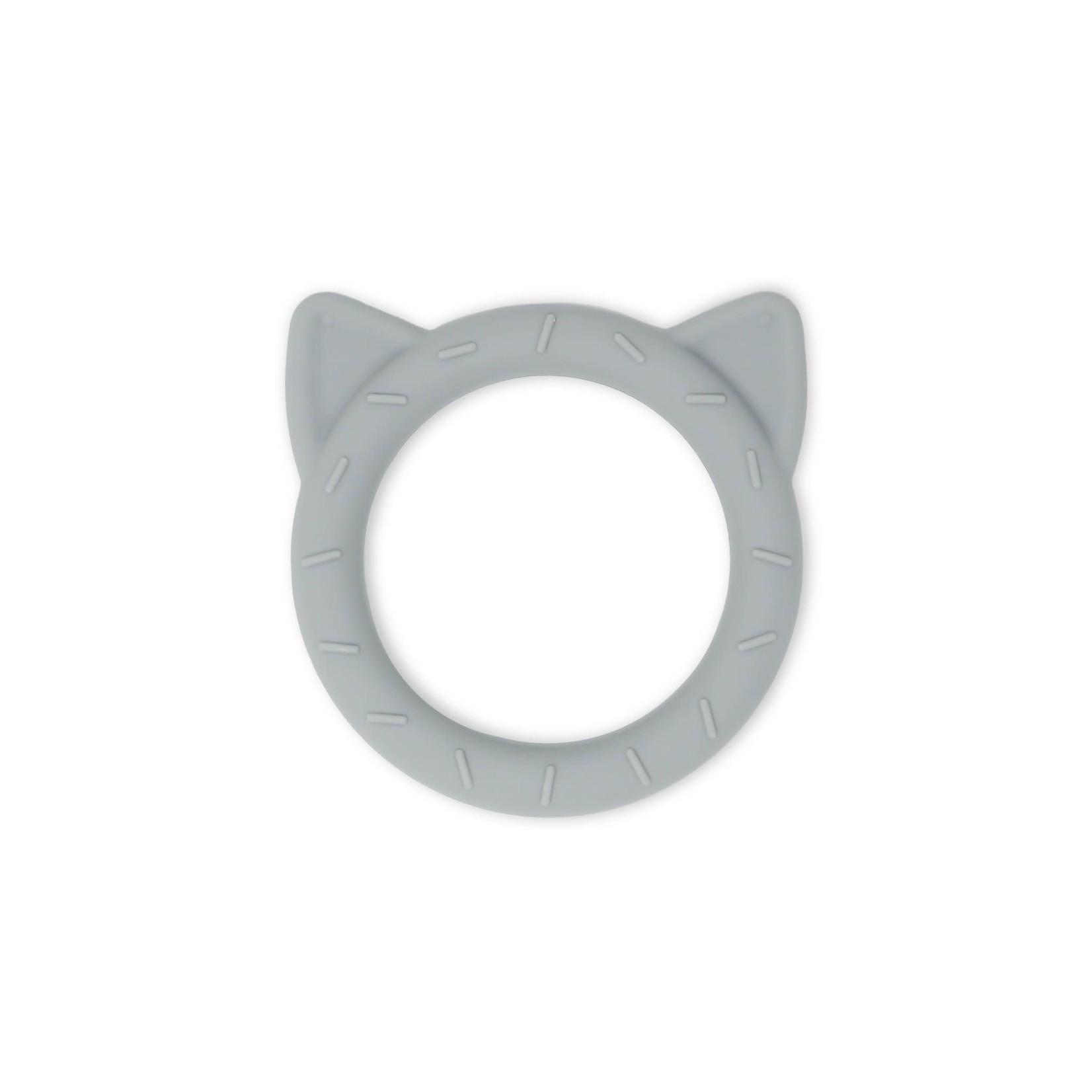 Mushie Bijtring Cat (Stone)