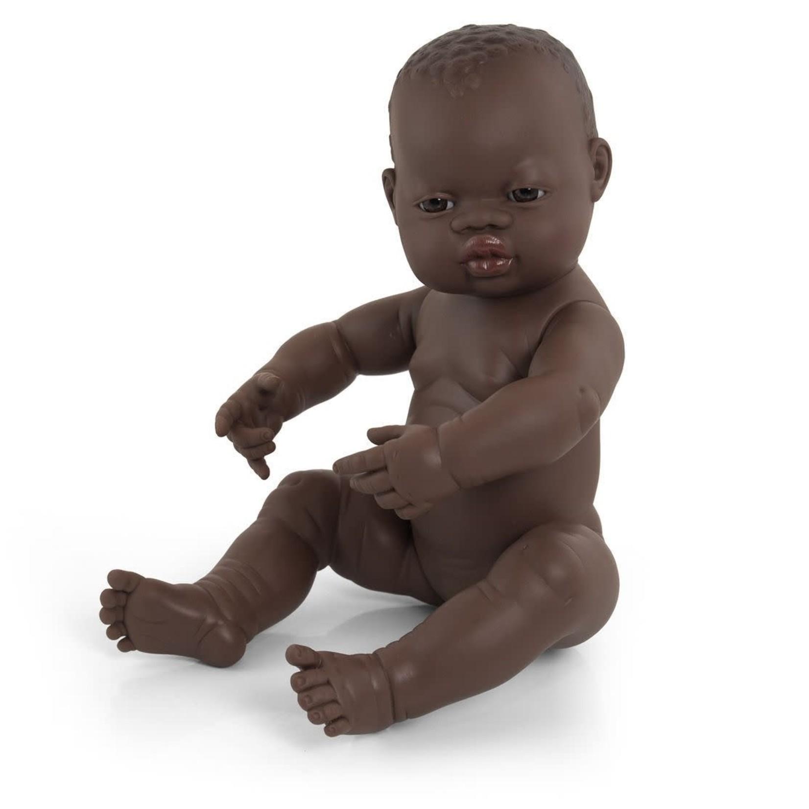 Miniland Pop Afrikaans meisje (40cm)