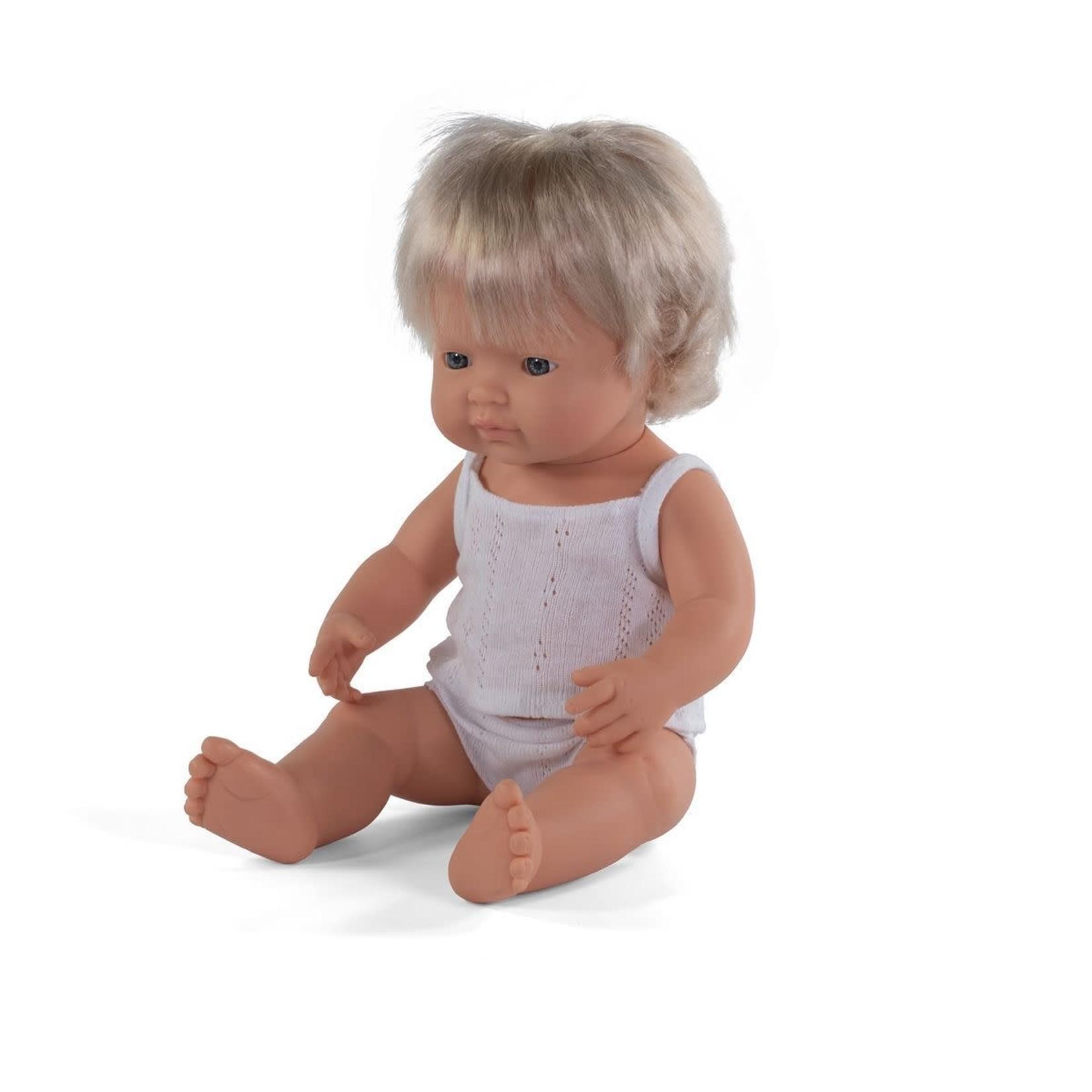 Miniland Pop Blond meisje (38cm)