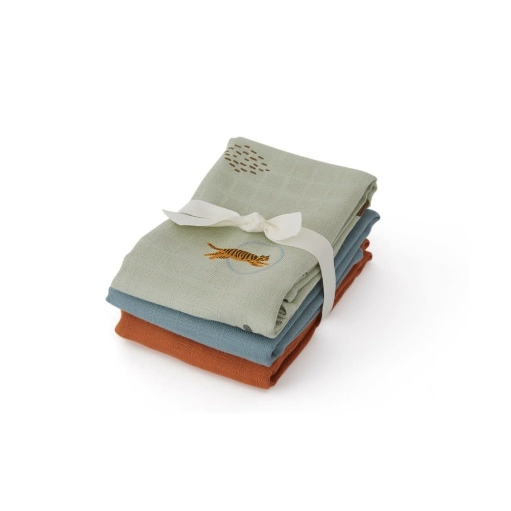 OYOY Living Design Tetradoeken Tiger (3stuks)