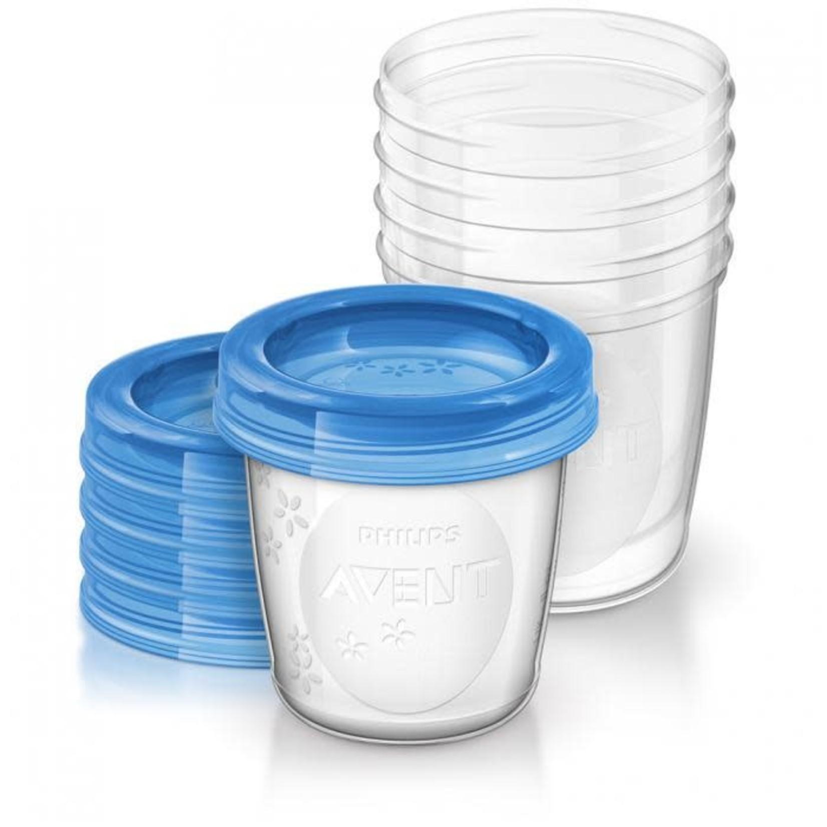 Philips Avent Bewaarbekers voor moedermelk 180ml (5 stuks)