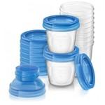 Philips Avent Bewaarbekers voor moedermelk 180ml (10 stuks)