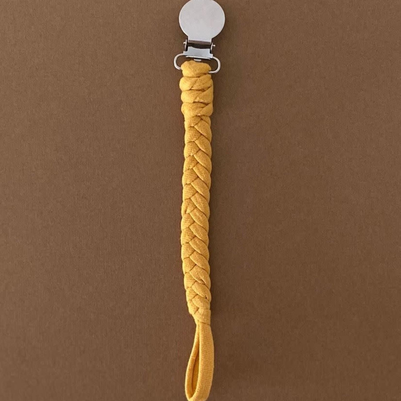 Speen & Koord Speenkoord Uni Cotton (Mustard)