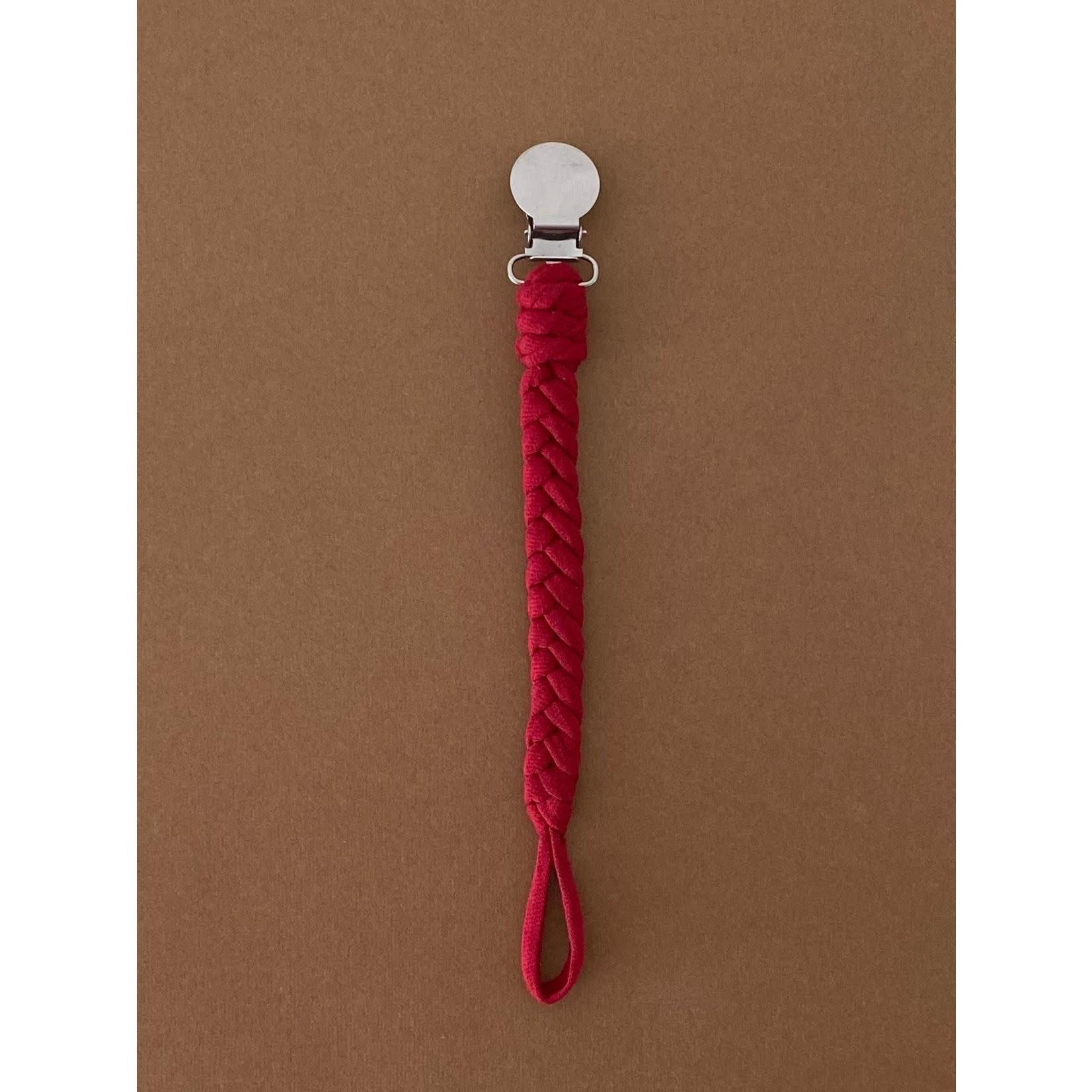 Speen & Koord Speenkoord Uni Cotton (Burgundy)