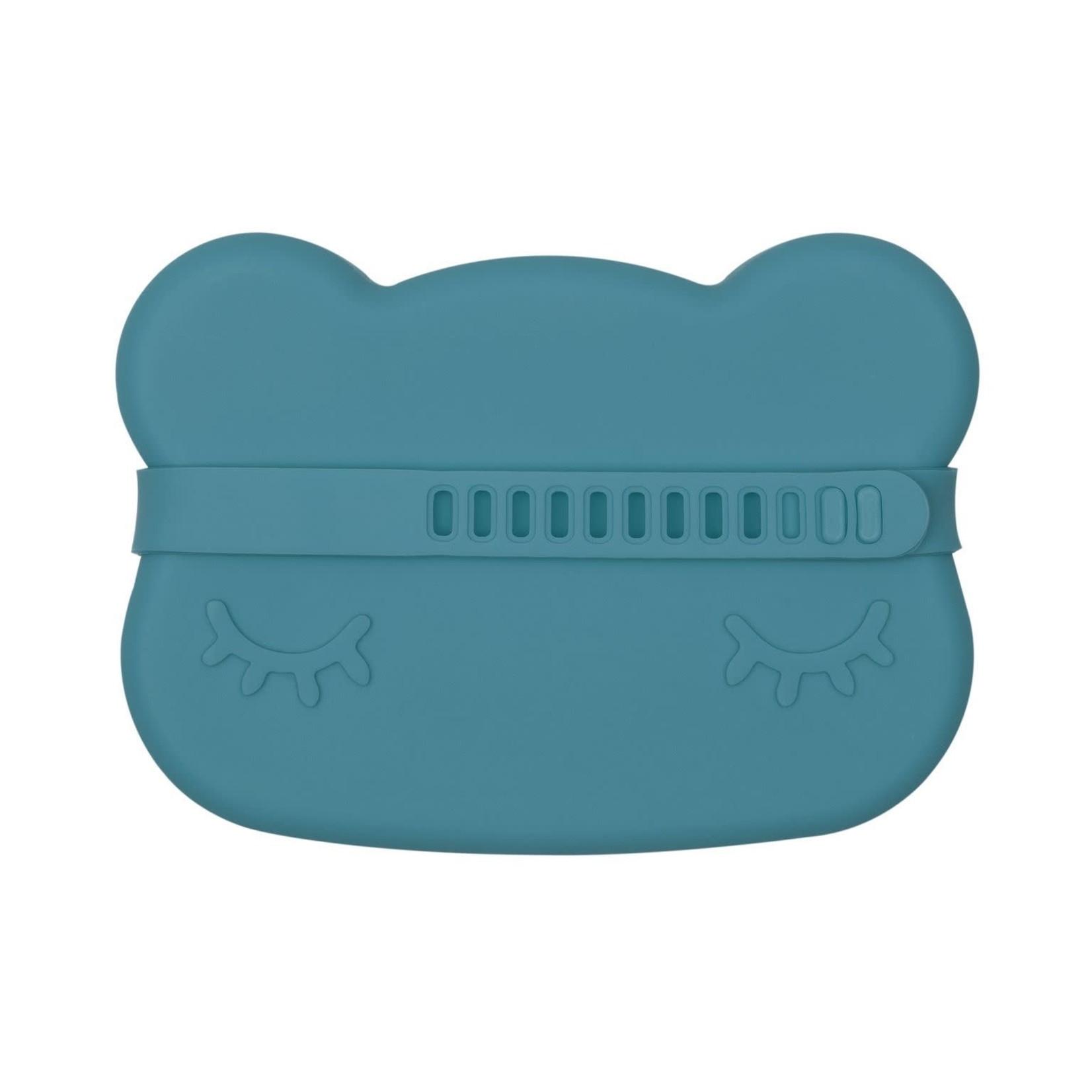 We Might Be Tiny Bear Snackie (Blue Dusk)