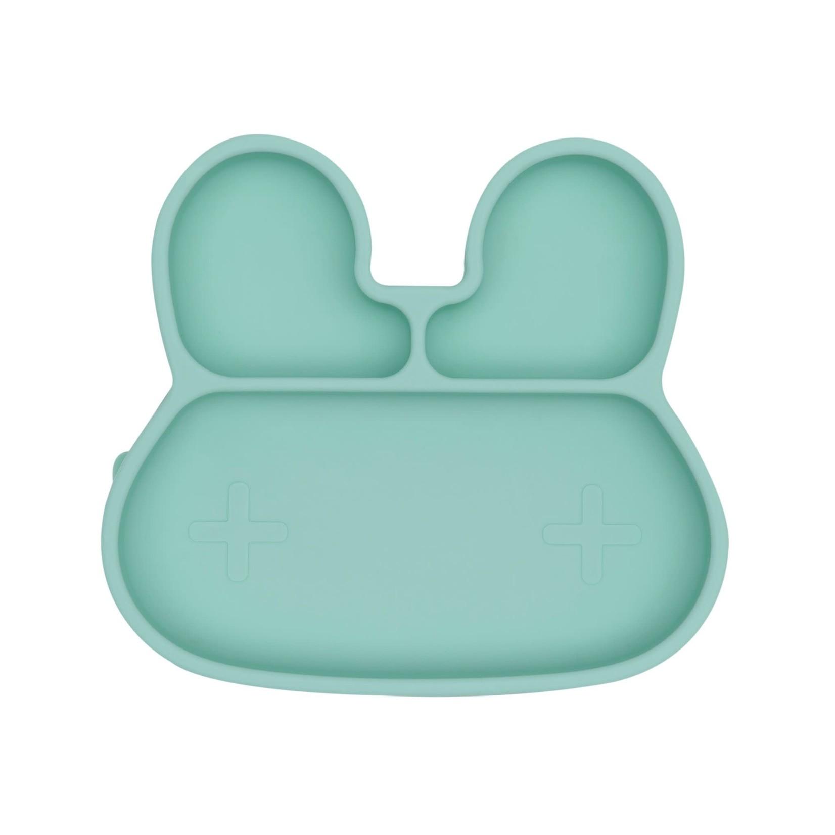 We Might Be Tiny Bunny Sticky Plate (Mint)