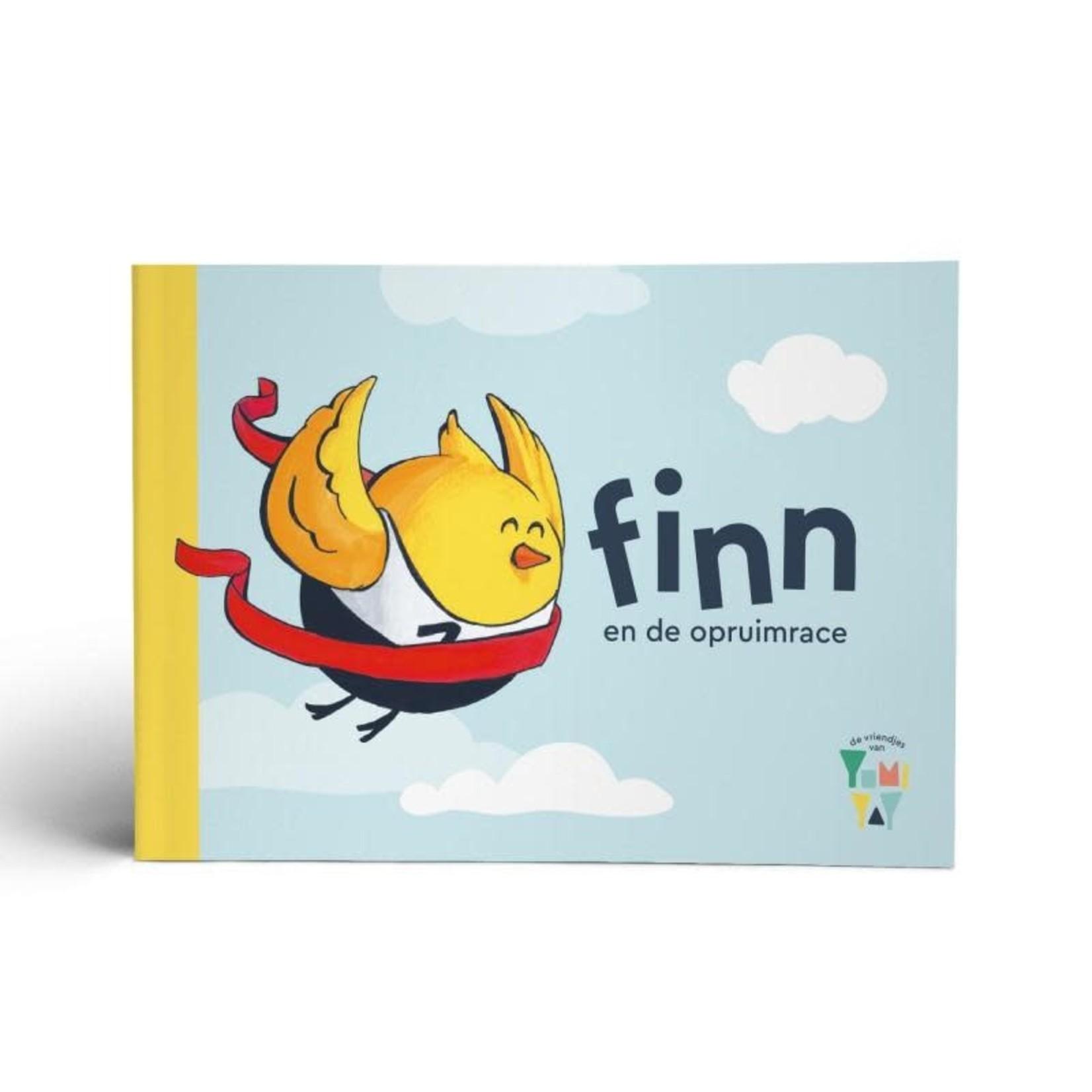"""Yumi Yay Voorleesboekje """"Finn en de opruimrace"""""""