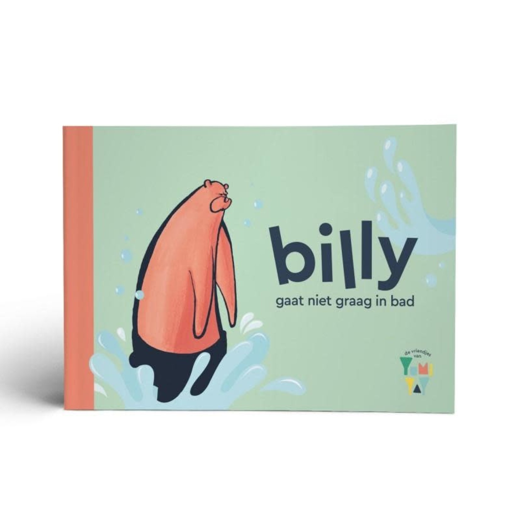 "Yumi Yay Voorleesboekje ""Billy gaat niet graag in bad"""