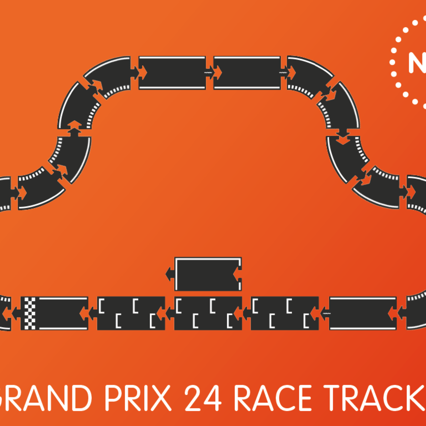 waytoplay Flexibele autobaan Grand Prix