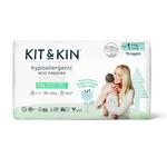 Kit & Kin Ecologische wegwerpluiers (Maat 1: 2-5kg)