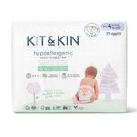 Kit & Kin Ecologische wegwerpluiers (Maat 4: 9-14kg)