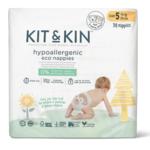 Kit & Kin Ecologische wegwerpluiers (Maat 5: +11kg)