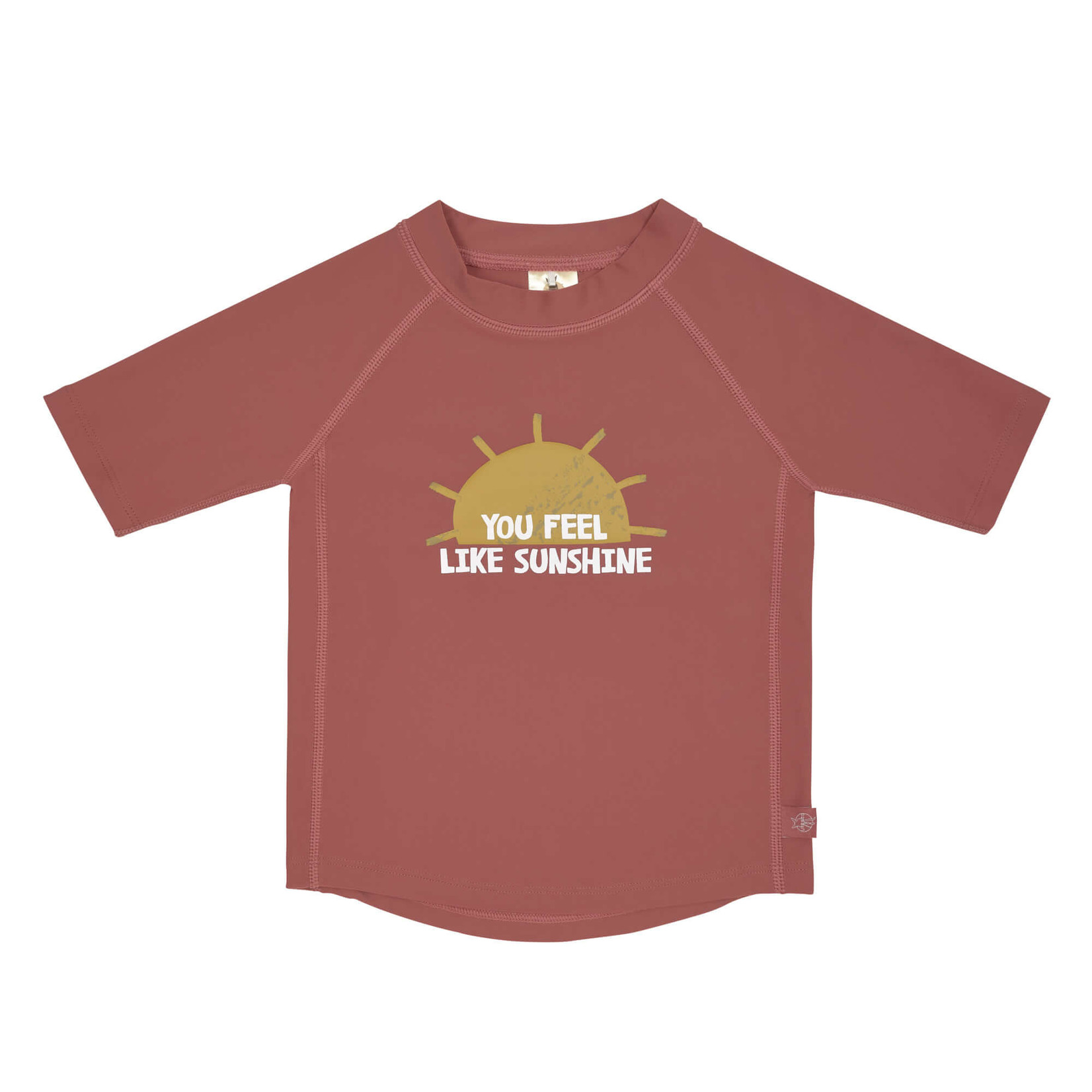 Lässig UV-shirt korte mouw (Sunshine Rosewood)