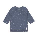 Lässig Kimono shirt (Driehoekjes blauw)