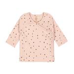 Lässig Kimono shirt (Stip roze)