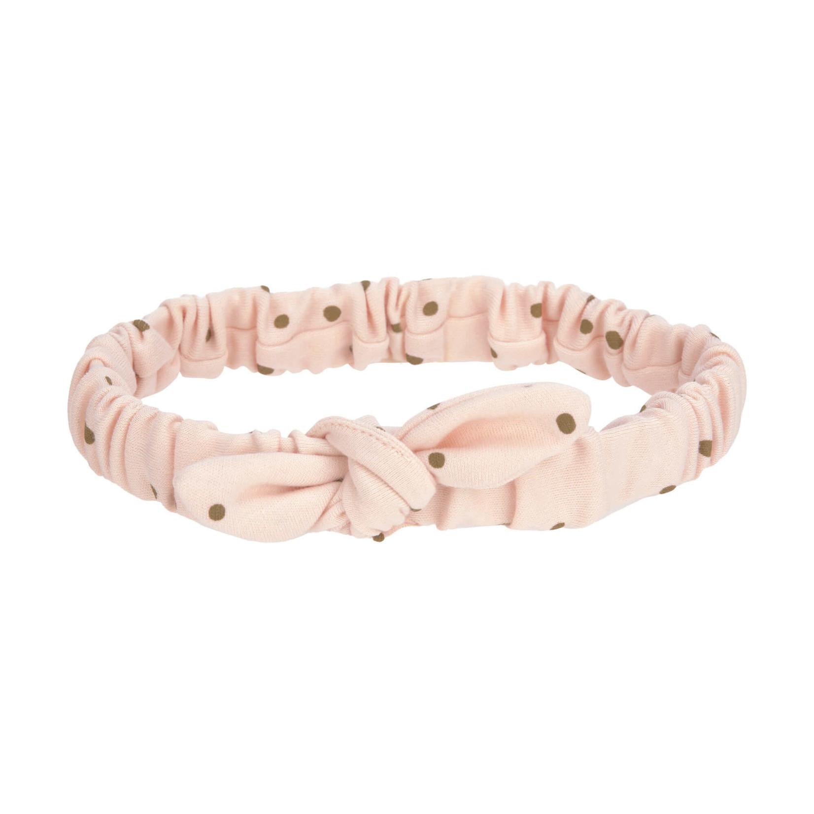 Lässig Haarband (Stippen roze)