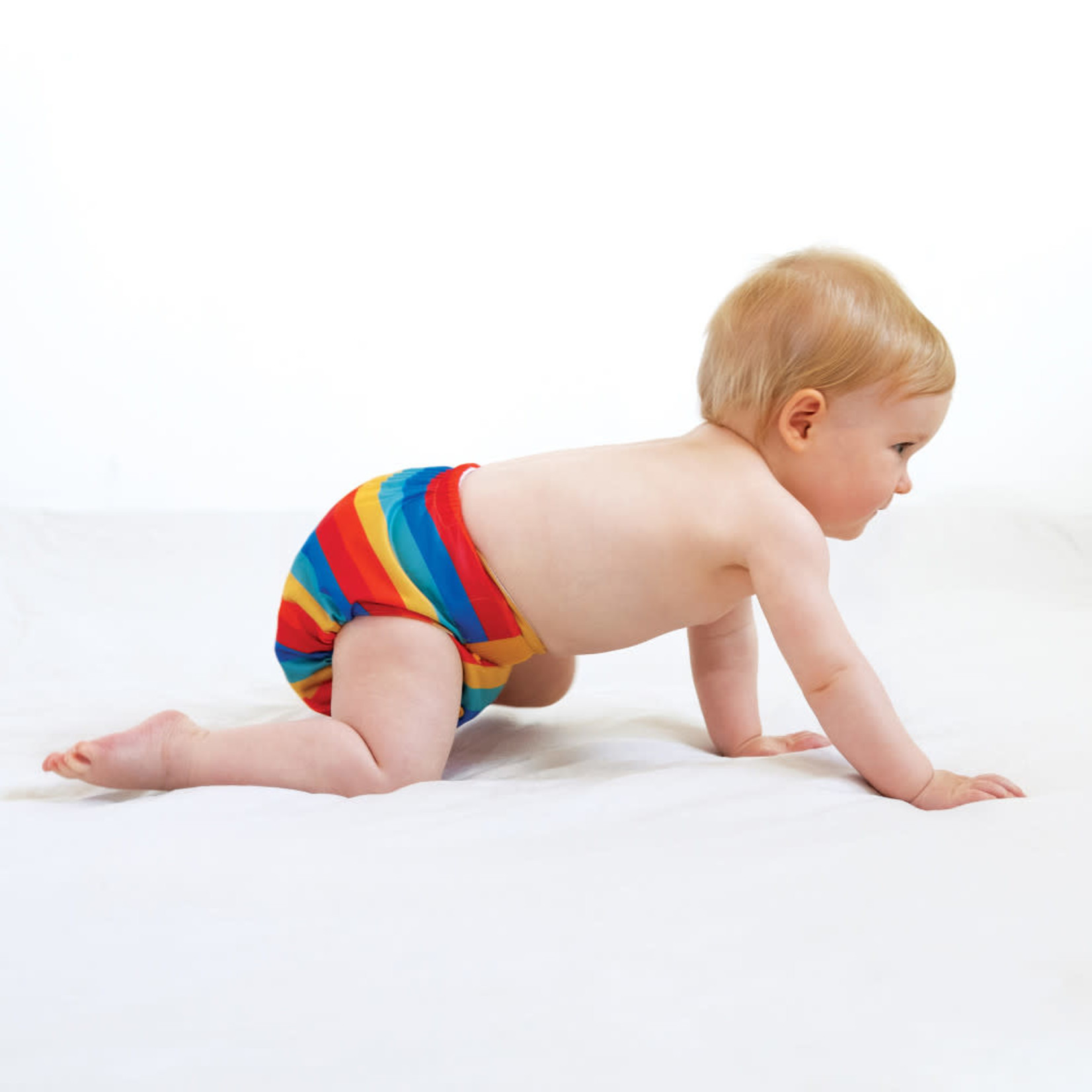 Totsbots Bamboozle Wrap (Rainbow Stripe)