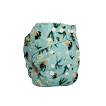LittleLamb One Size Pocketluier (Bumble Bee Blues)