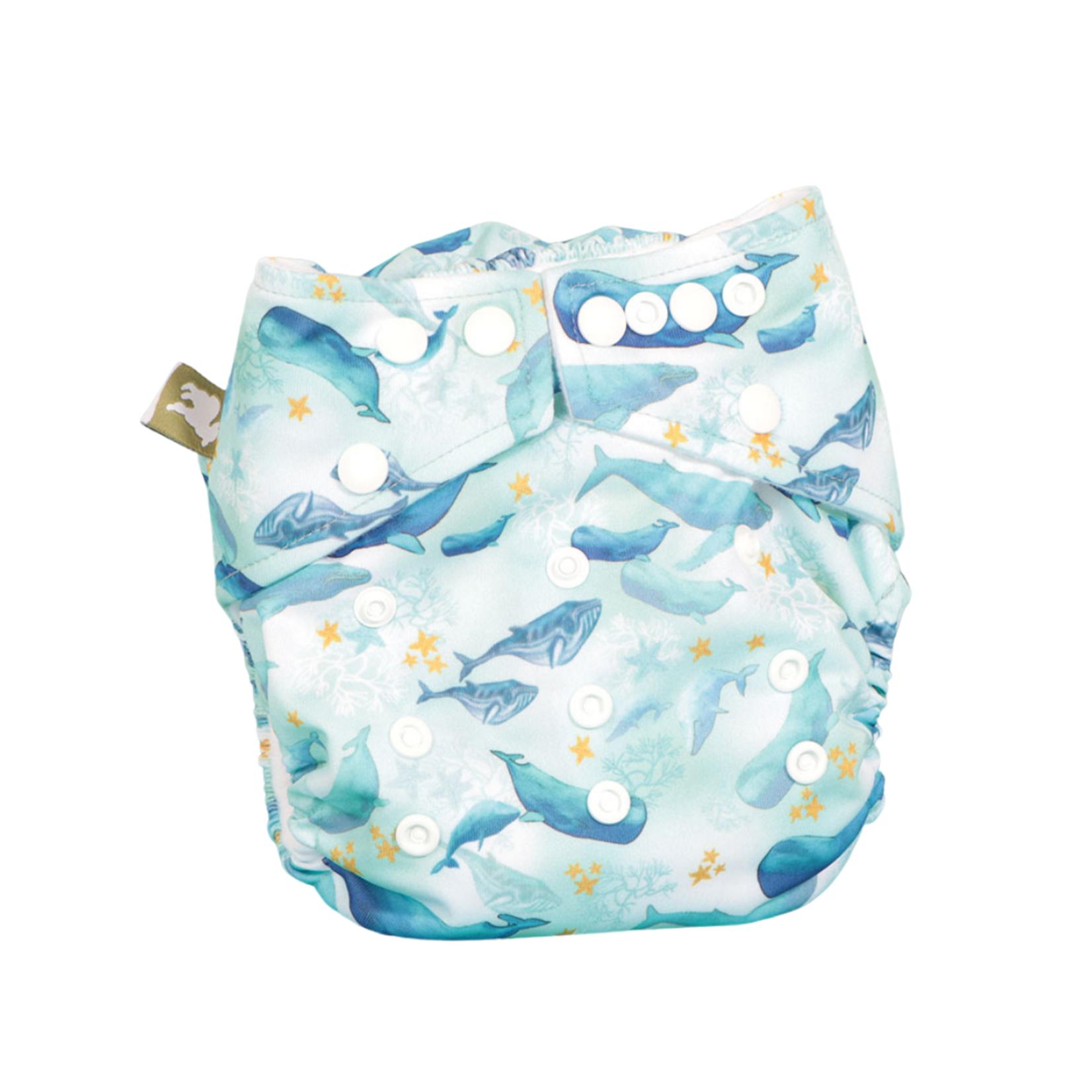 LittleLamb One Size Pocketluier (Under The Sea)