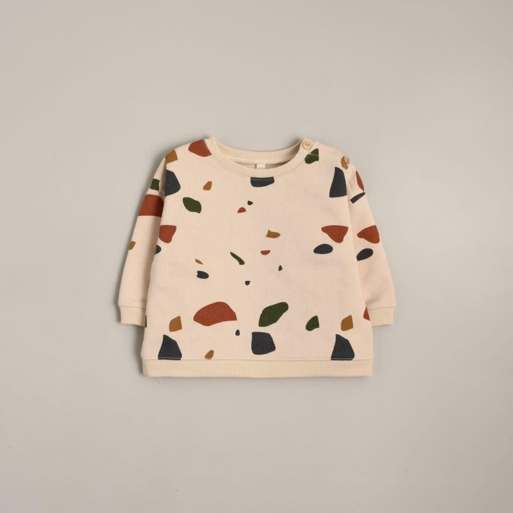 Organic Zoo Sweatshirt - Terrazzo