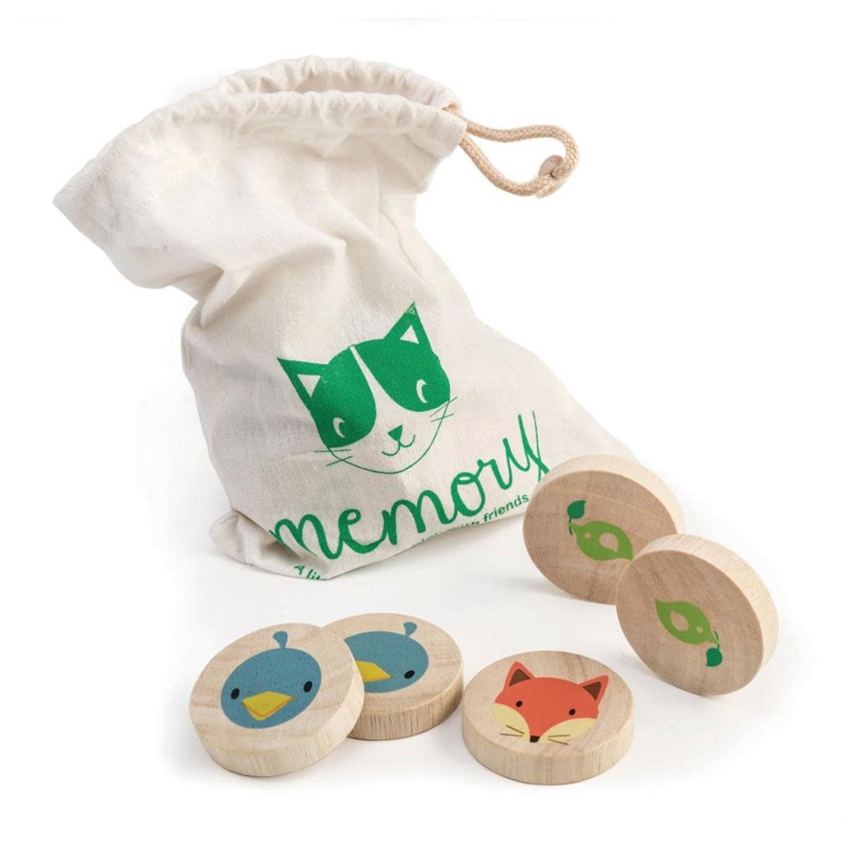 Tender Leaf Toys Memory - Slimme kat