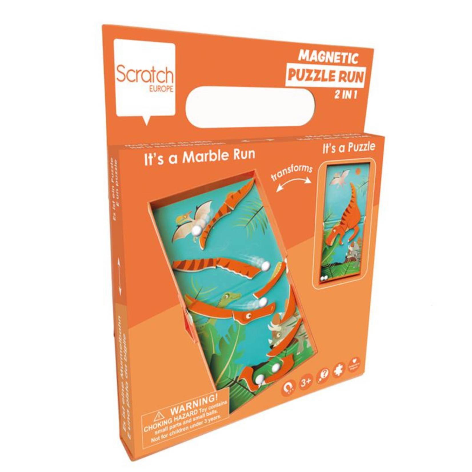Scratch Magnetische puzzel - Dino