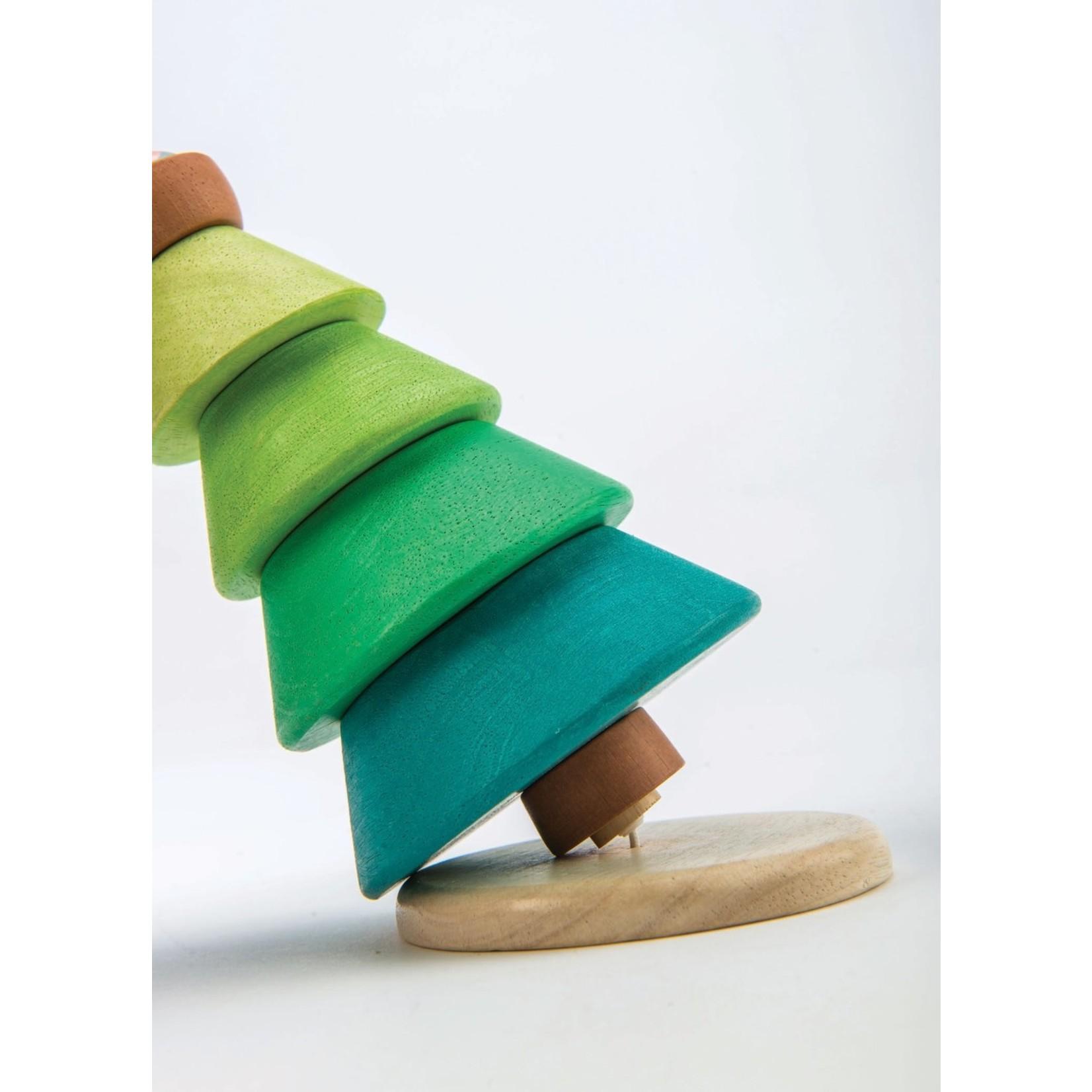 Tender Leaf Toys Stapeltoren Dennenboom