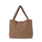 Studio Noos Brown chunky teddy mom-bag