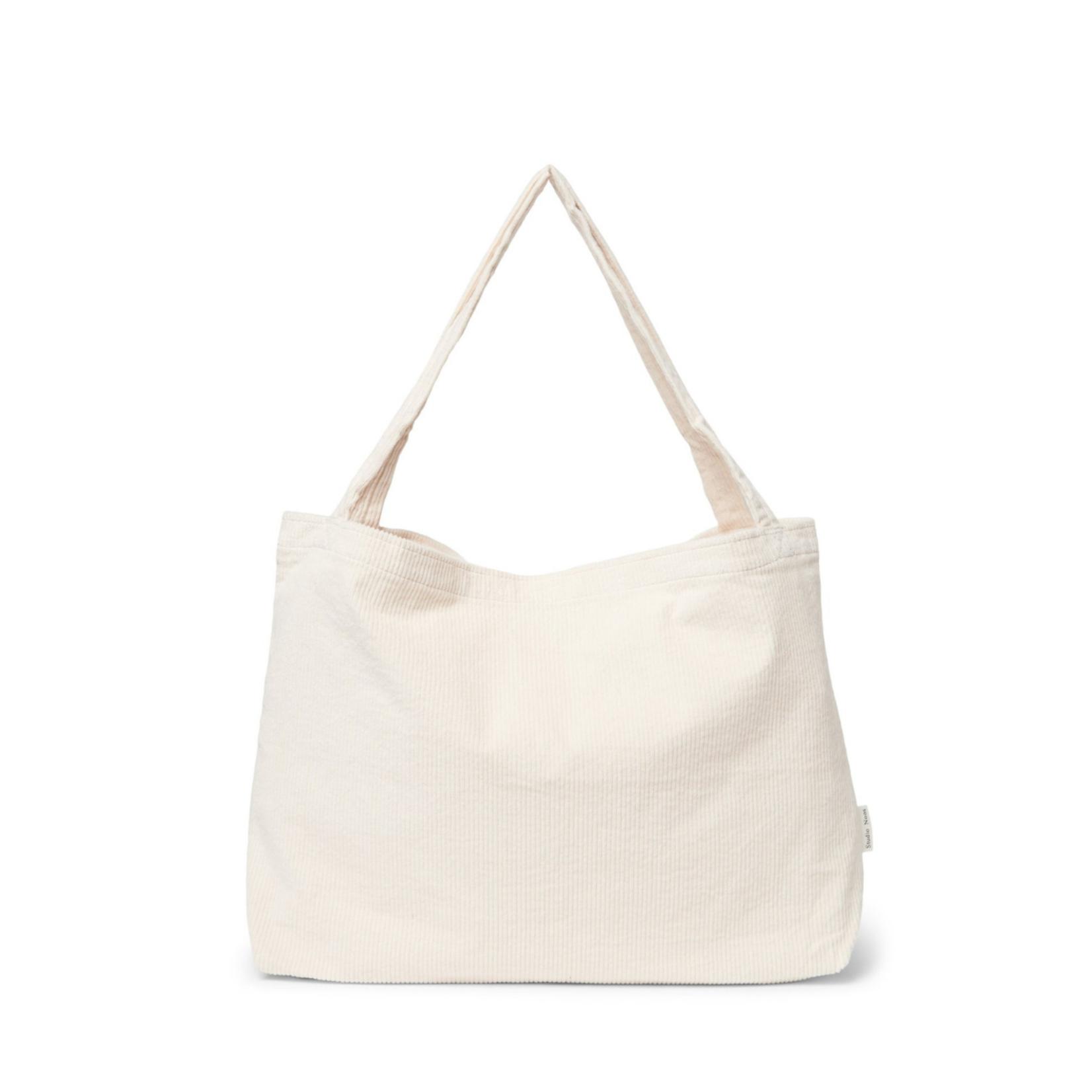 Studio Noos Old white rib mom-bag