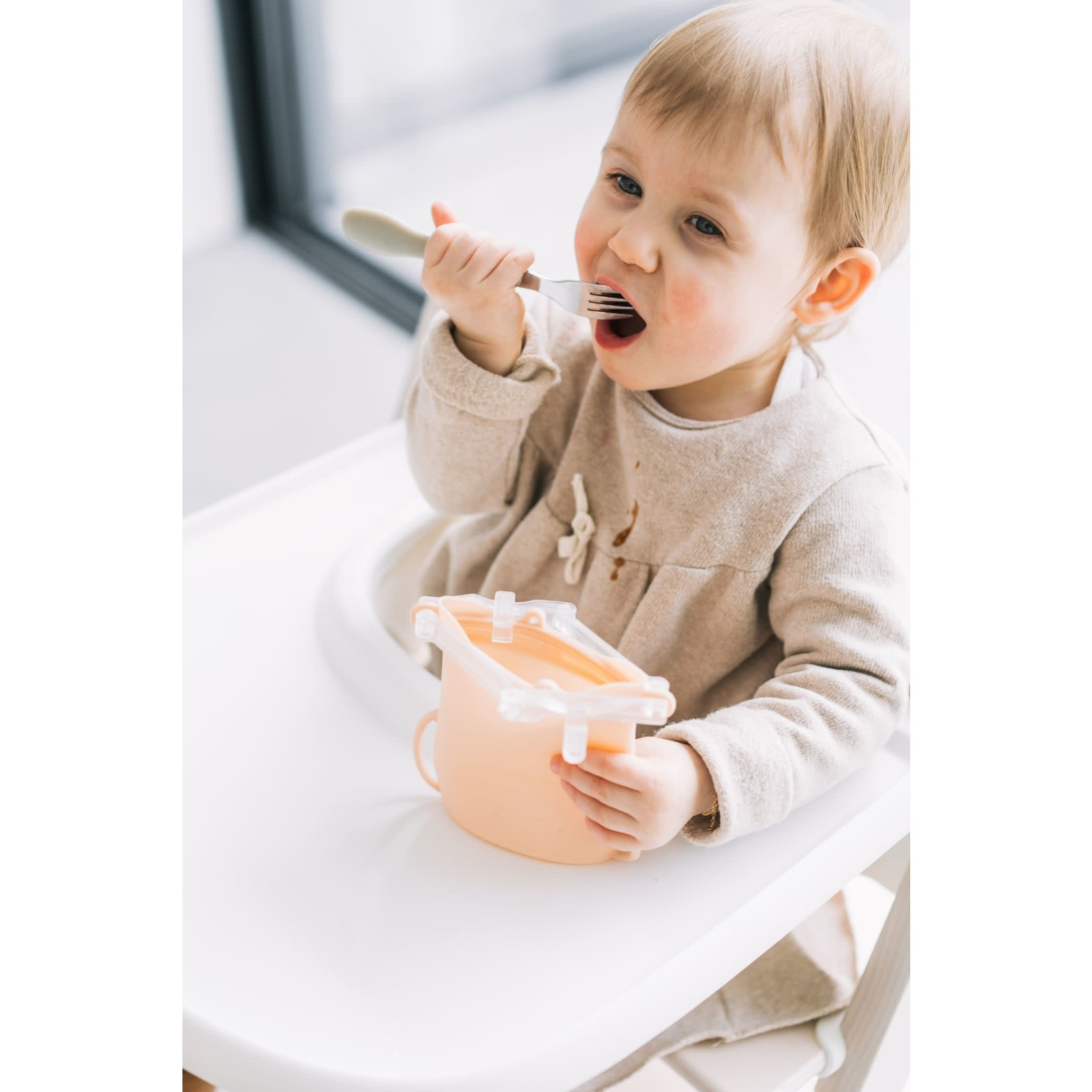 Baby on the Move Yummy Bag 2-Pack (Blush)