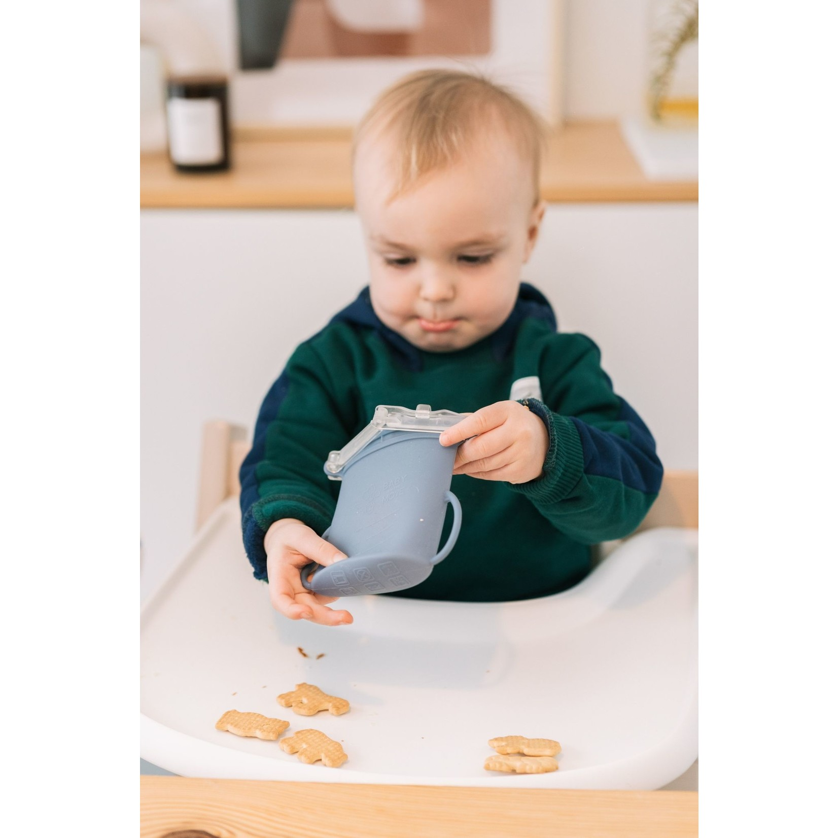 Baby on the Move Yummy Bag 2-Pack (Denim)