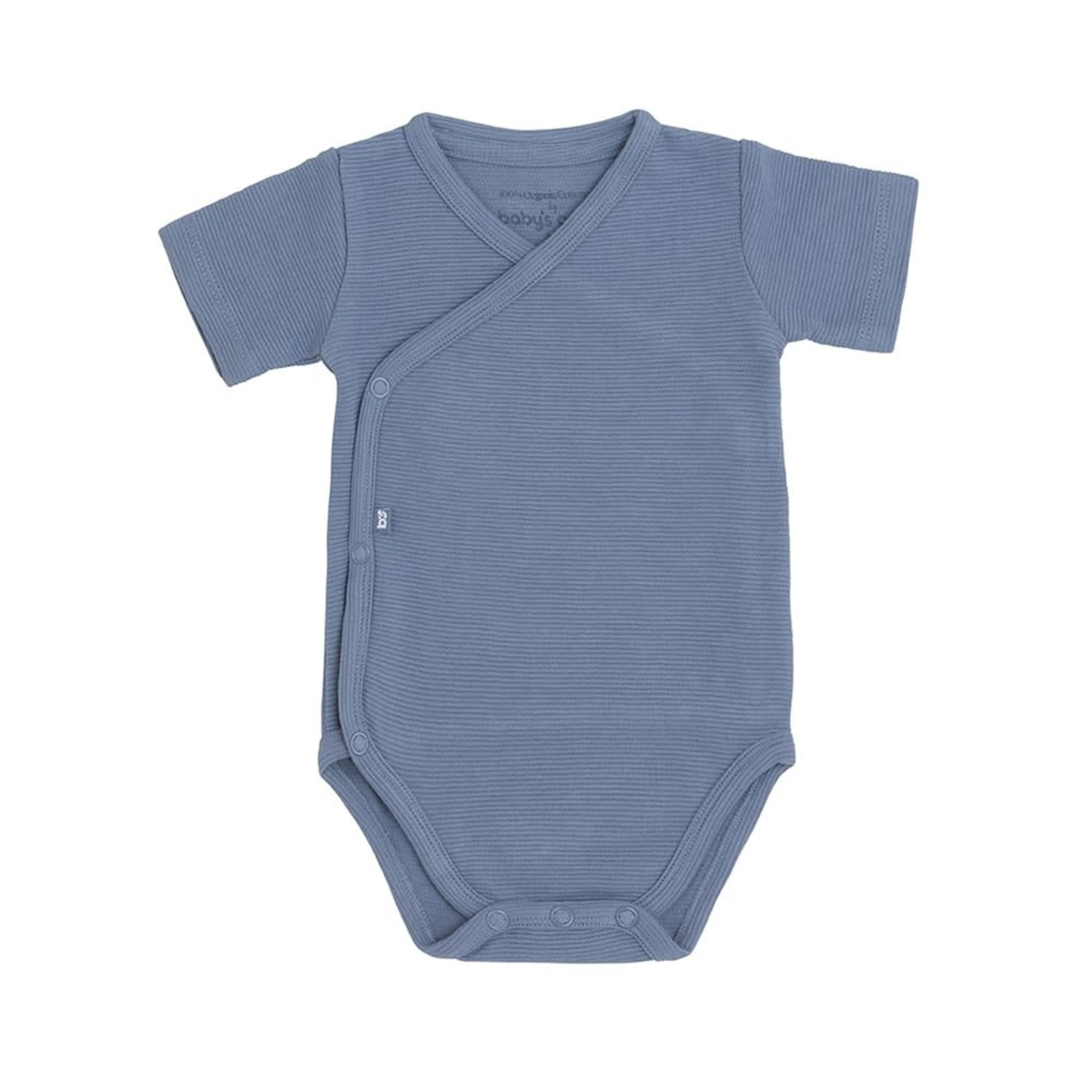 Baby's Only Romper korte mouw Pure (Vintage blue)
