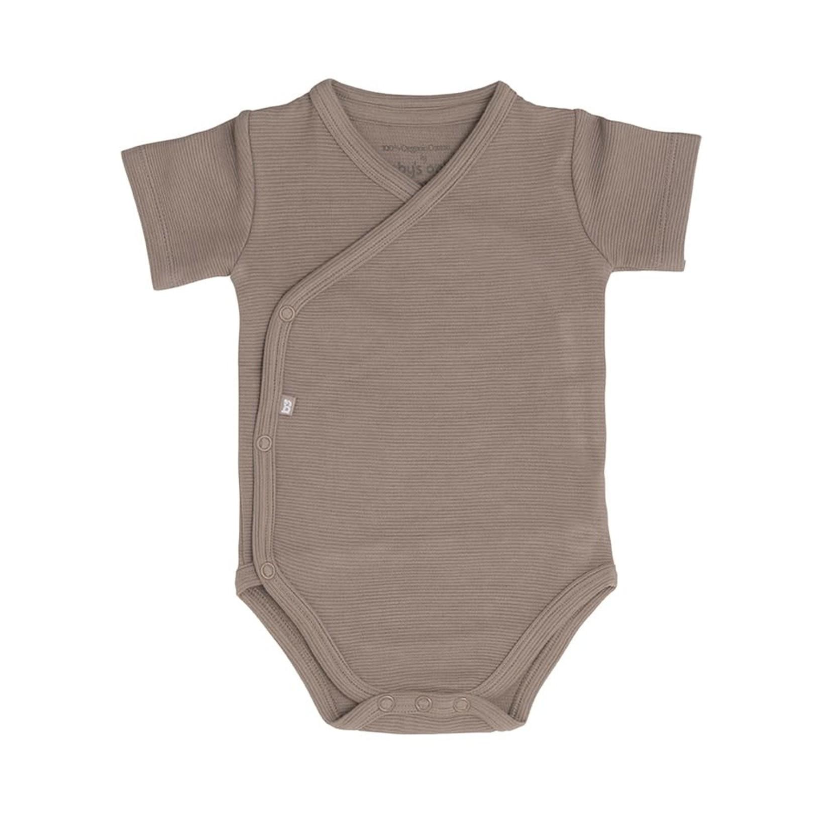 Baby's Only Romper korte mouw Pure (Mokka)