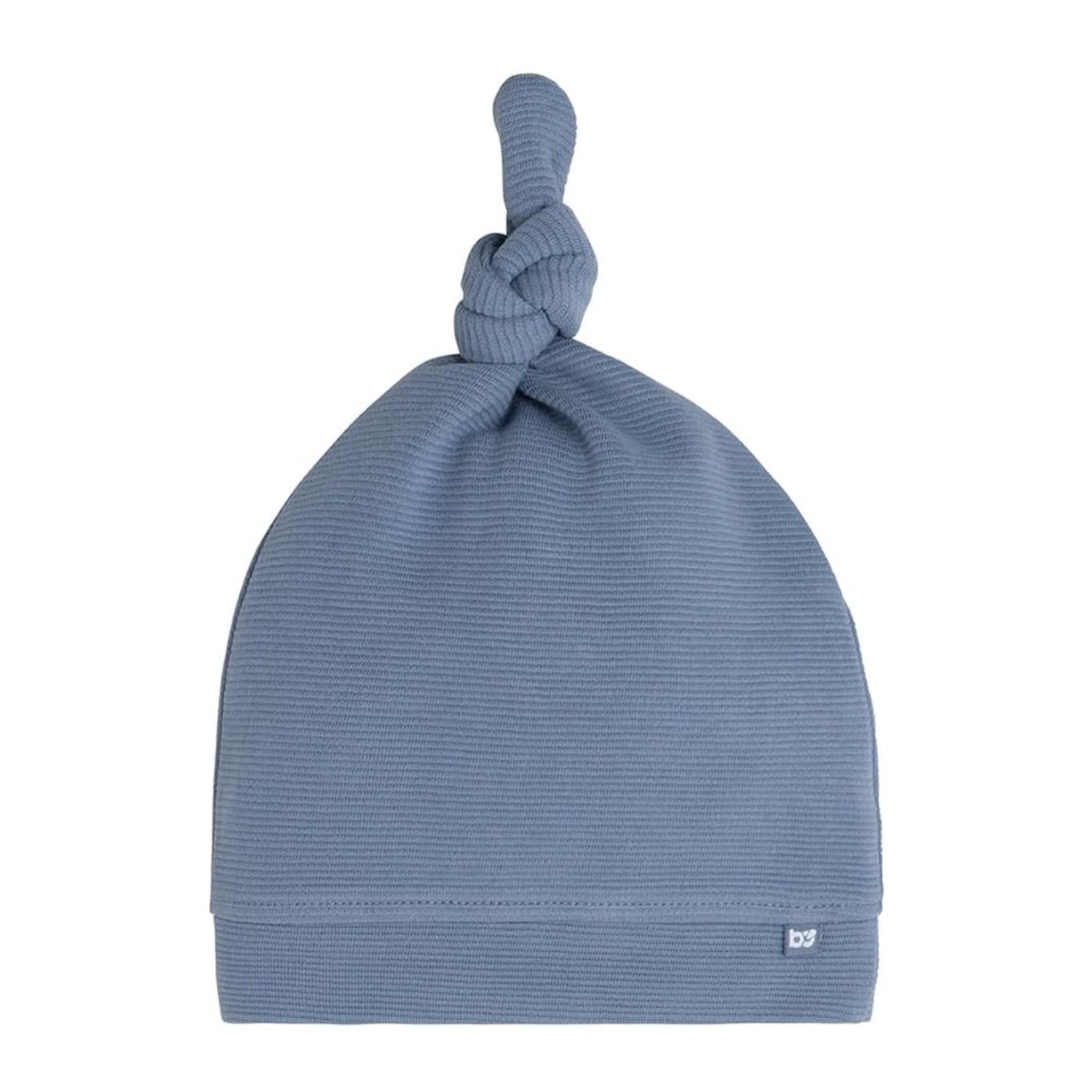 Baby's Only Knoopmutsje Pure (Vintage blue)