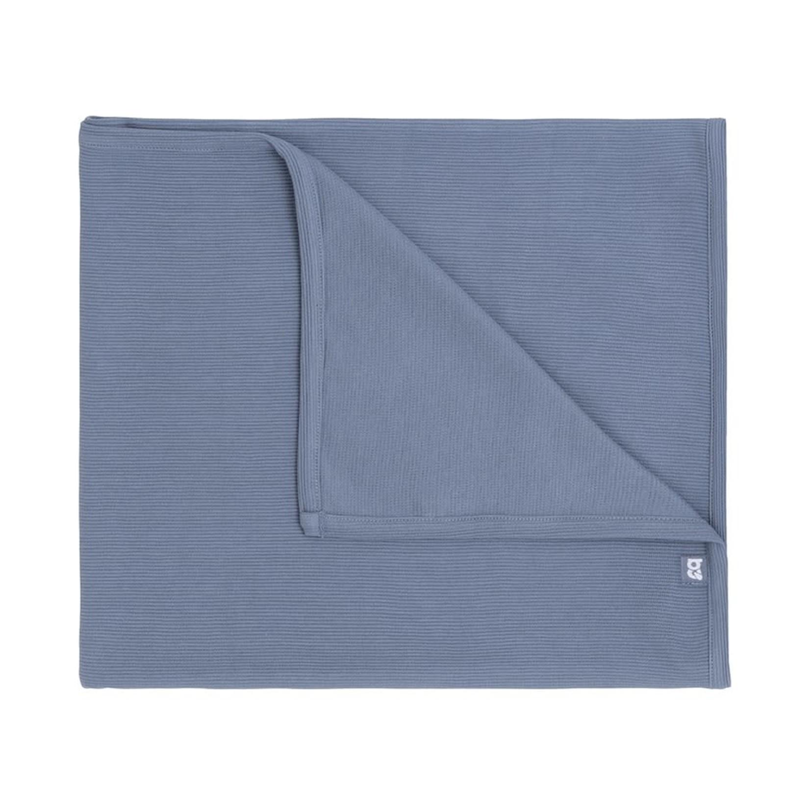 Baby's Only Wiegdeken Pure (Vintage blue)