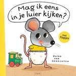 Clavis Uitgeverij Mag ik eens in je luier kijken? Flapjesboek + knuffel