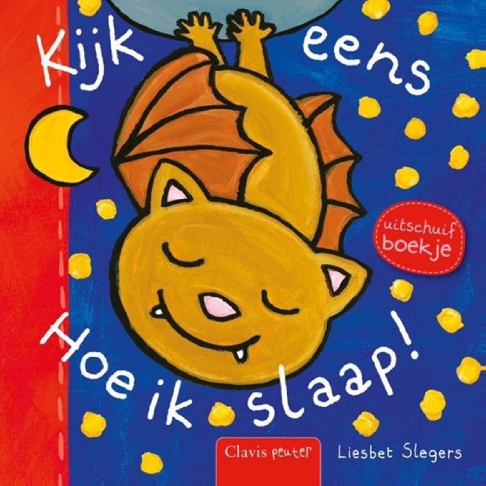 Clavis Uitgeverij Hoe ik slaap!