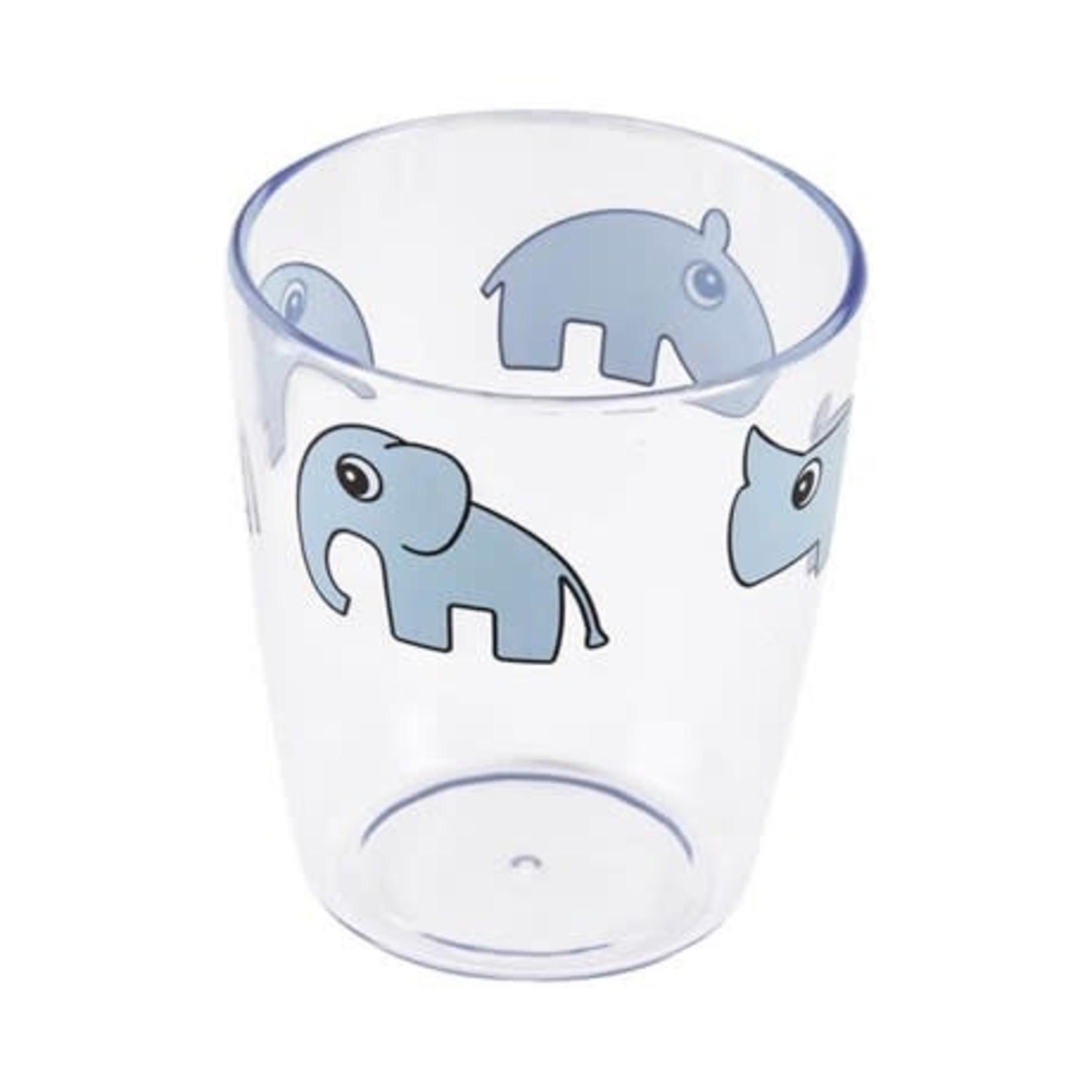 Done by Deer Yummy mini glas Deer friends (Blue)