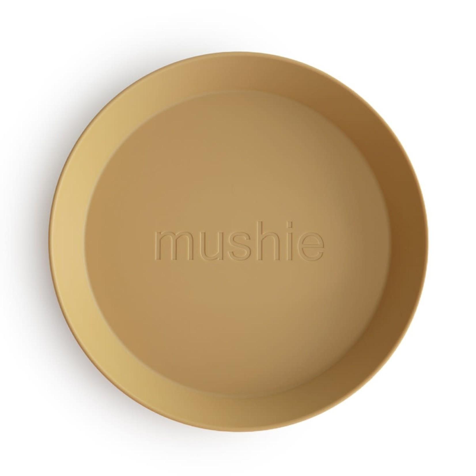 Mushie Borden 2 stuks (Mustard)