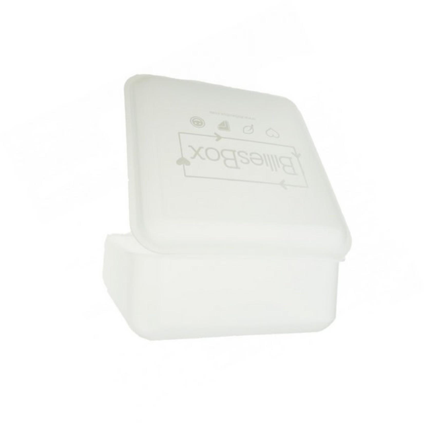 BilliesBox Bewaardoos voor wasbare doekjes (wit)