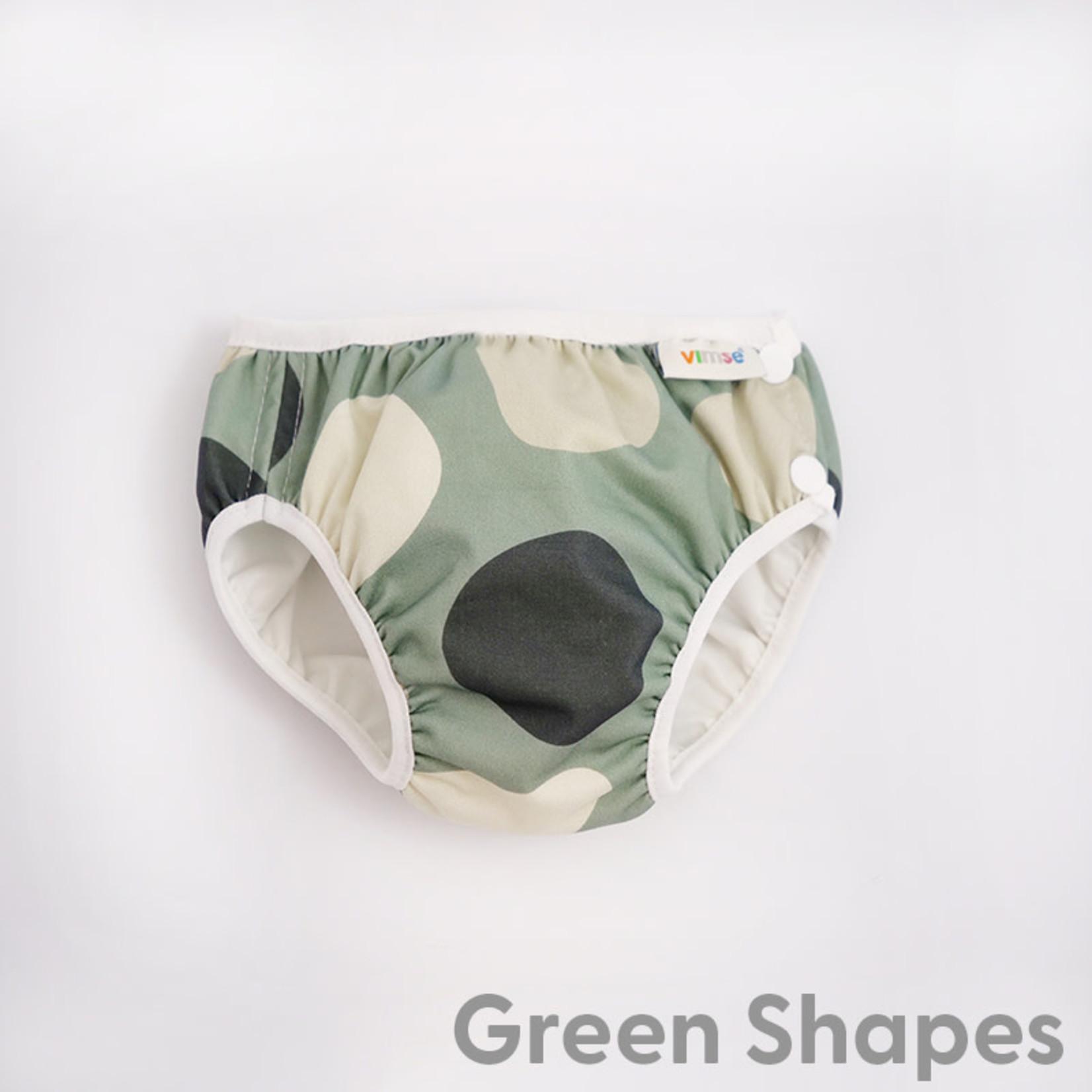 Imse Vimse Zwemluier (Green shapes)