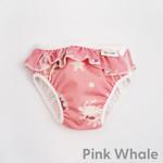 Imse Vimse Zwemluier (Pink whale frill)
