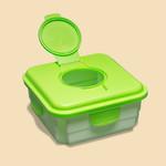 Cheeky Wipes Mucky doos voor vuile doekjes (Groen)