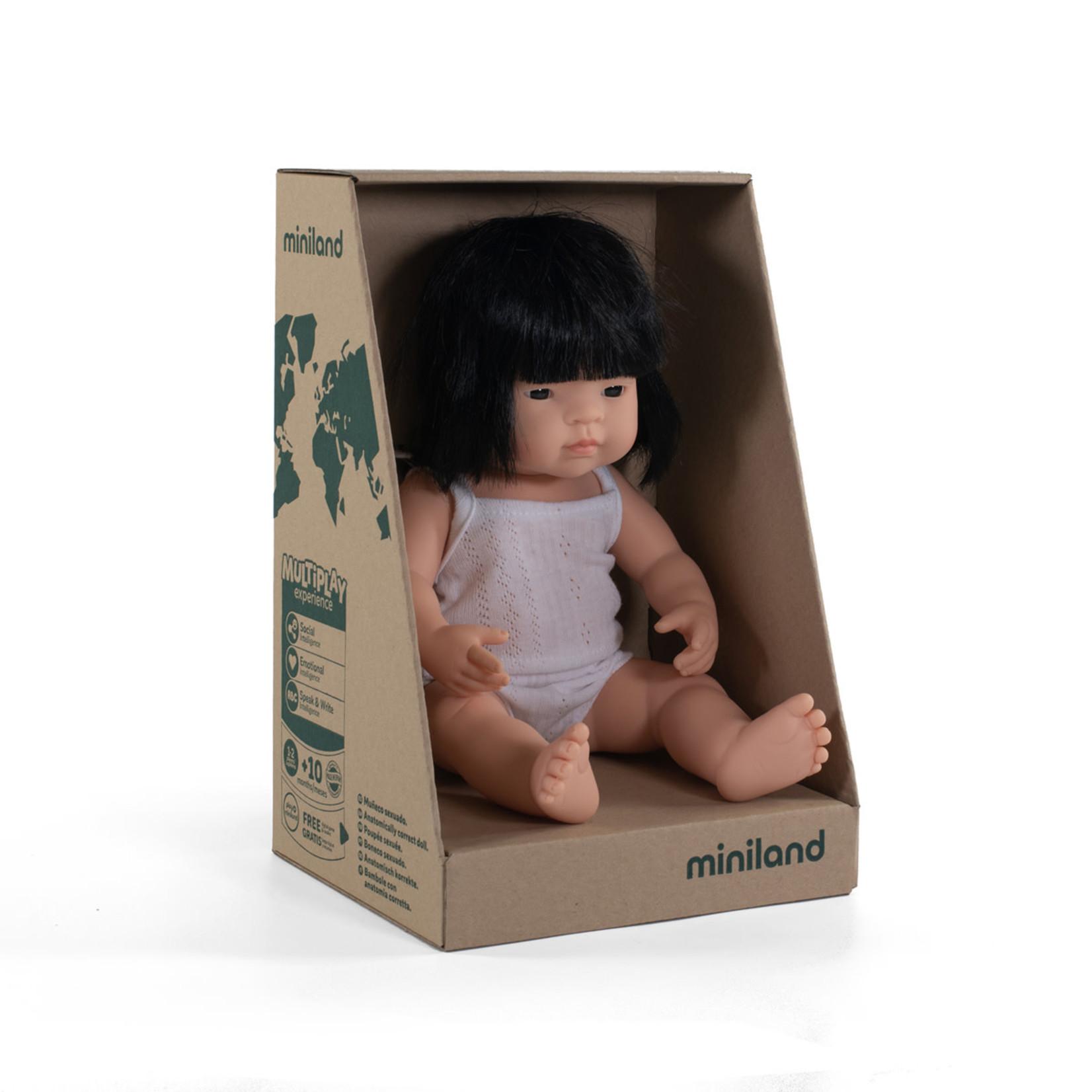 Miniland Pop Aziatisch meisje (38cm)