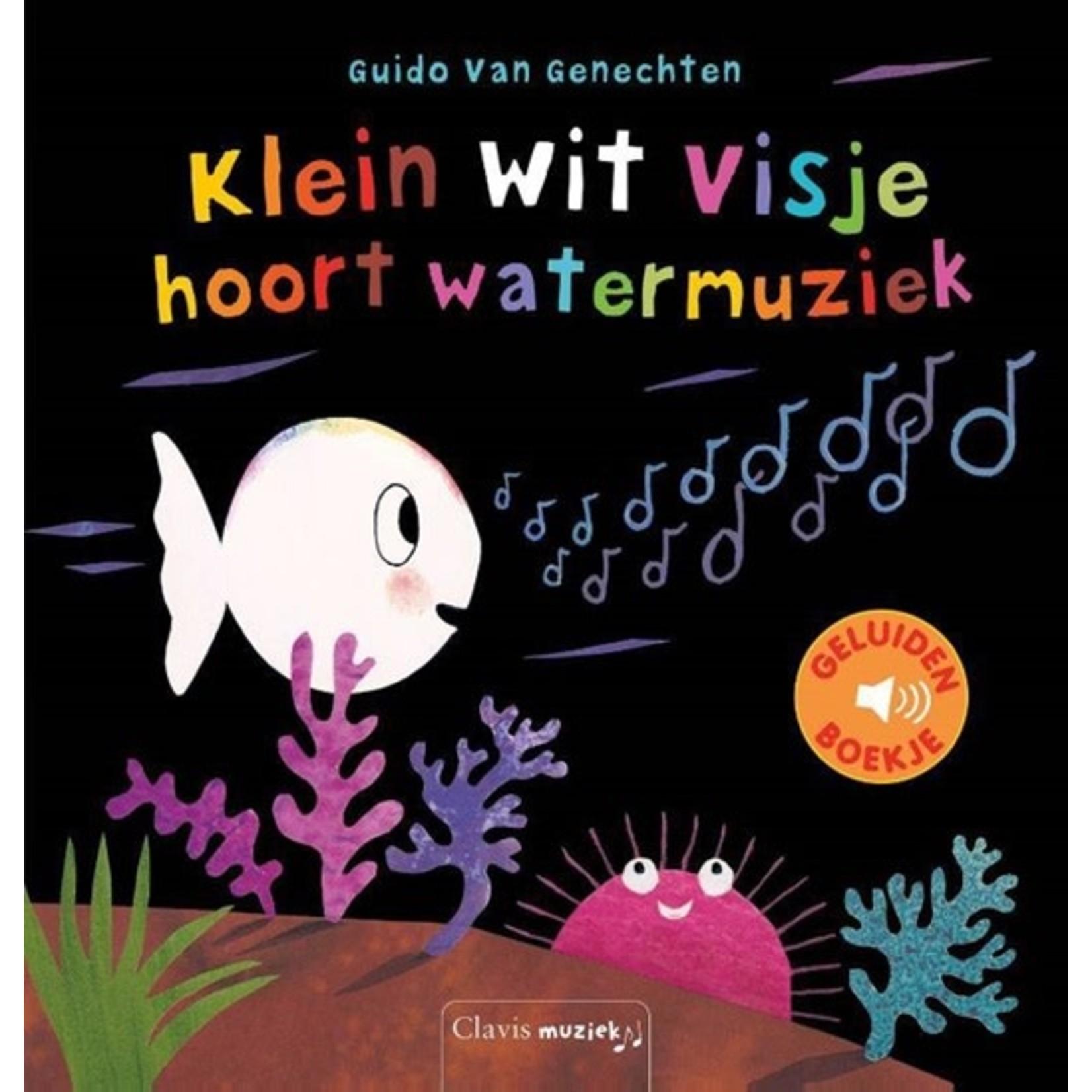 Clavis Klein wit visje hoort watermuziek