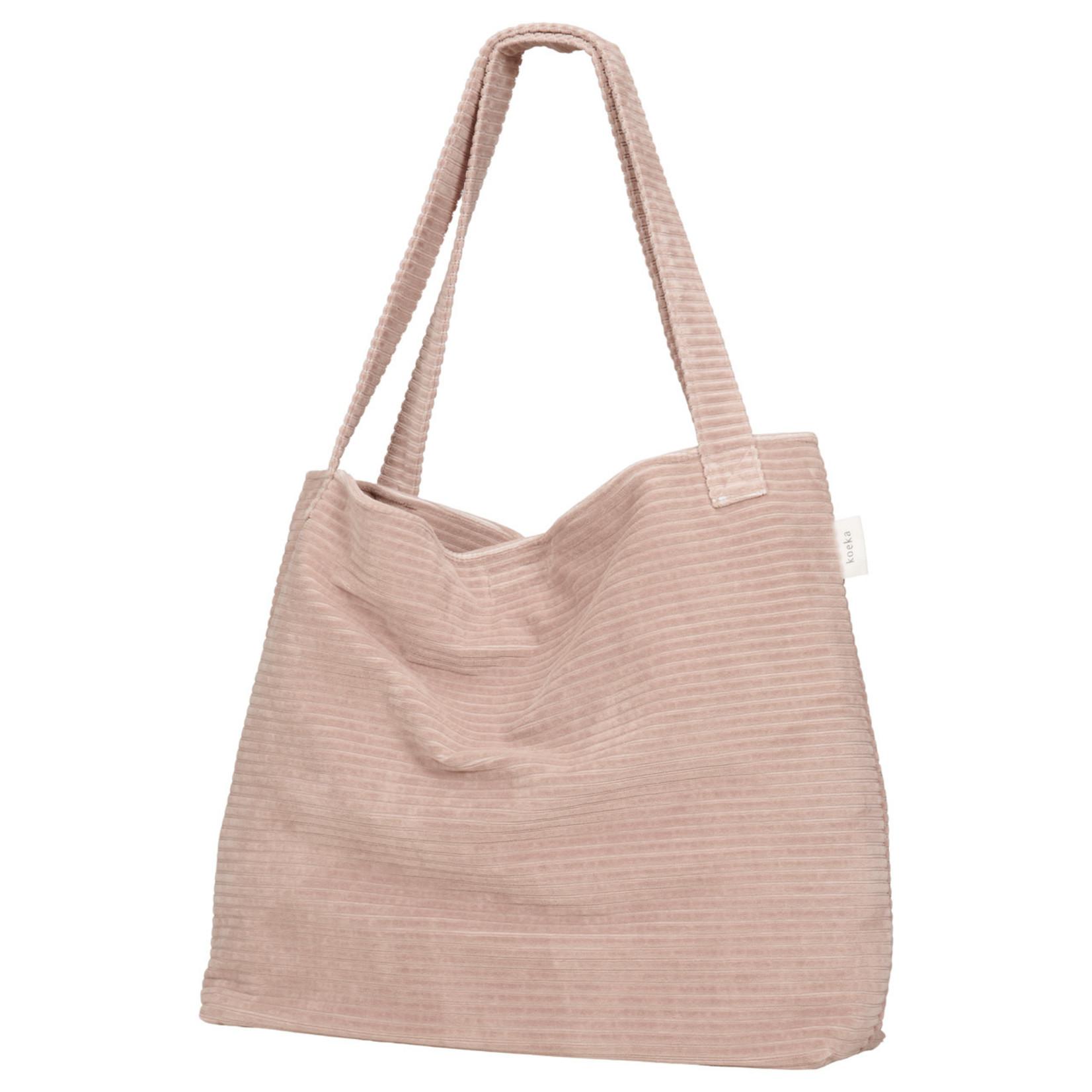 Koeka Mom bag Vik (Grey pink)